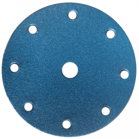 Spinning Discs Blue Zirconia 150mm (with 8 +1 hole)
