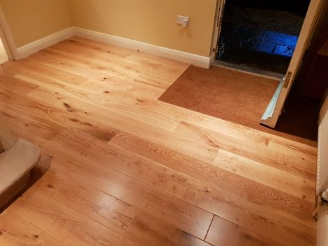 WFUK 20mm Rustic Oak Lacquered
