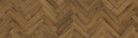 WFUK Herringbone Brushed Fumed Oak