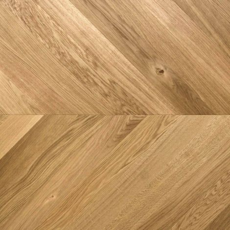 Europa Chevron Chateau Moderne 9mm x 90mm Brushed & UV Oiled