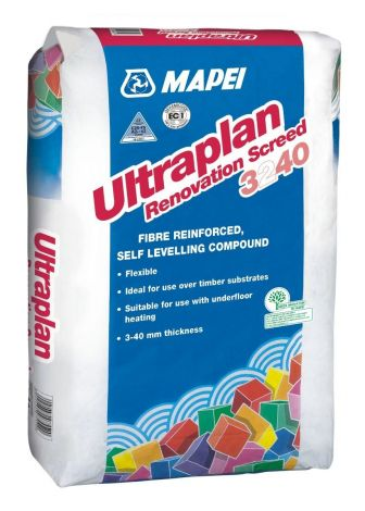 Mapei Ultraplan Renovation Screed