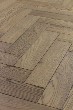 WFUK Cast Bronze Oak Herringbone 15mm x 90mm Oiled