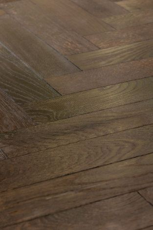 WFUK Rock Fossil Oak Herringbone 15mm x 90mm UV Oiled