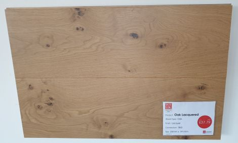 WFUK Grand Oak Lacquered 20mm x 191mm